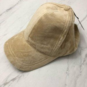 Forever 21 Baseball Cap Faux Suede Baddie Hat NWT
